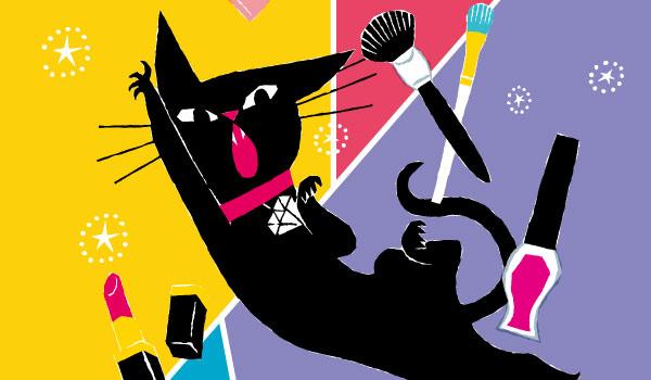 今年で4年目となるゴンチャロフで人気の猫のブランド。